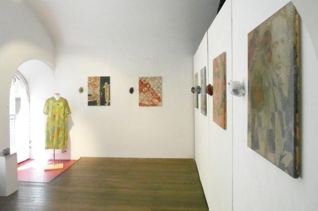 Ausstellung der Frauenherzen zusammen mit Peer Boehm in der Galerie Aichhorn 2015