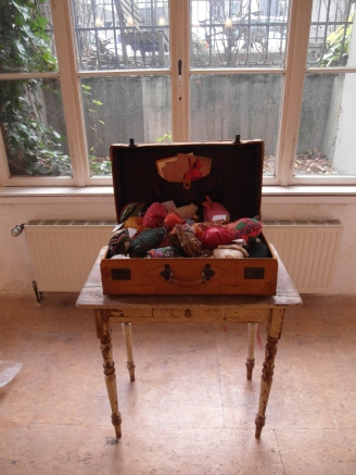 womens hearts in a suitcase